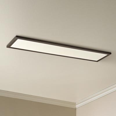 "Maxim Lighting Sky Panel 48"" Wide Bronze LED Ceiling Light"