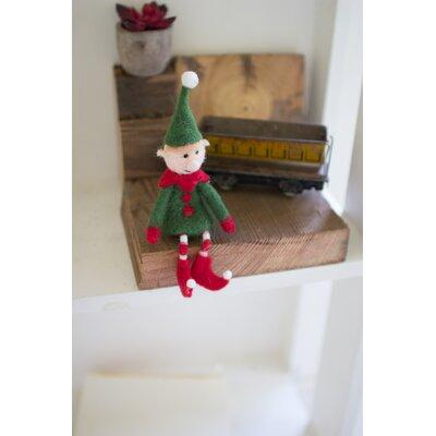 the holiday aisle felt elf on a shelf small bf158844 - Animated Christmas Elves Decorations