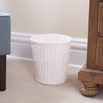 Household Essentials Paper Rope Wicker Waste Basket ML-7192