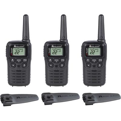 Midland T10X3 X-Talker 3-Pack of GMRS Radios