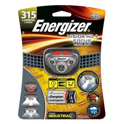 Eveready 12560 - Gray / Red Vision HD Focus Industrial LE...