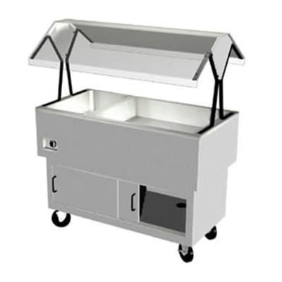 Duke DPAH-1H3C 58.37 Hot/Cold Portable Buffet, (3) 5 Iced Section, (1) Hot Well, 120 V