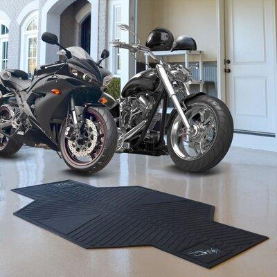 Fan Mats NBA Motorcycle 42 ft. x 0.25 ft. Garage Flooring...