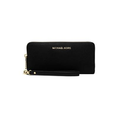 f832b8be2aef Michael Kors Jet Set Travel Carry All LTR Saffiano Leather Wallet in ...