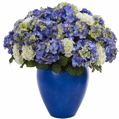 Rosecliff Heights Artificial Hydrangea Plant Centerpiece ...