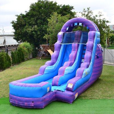 JumpOrange Cotton Candy Mega Water Inflatable Slide JC-WS...