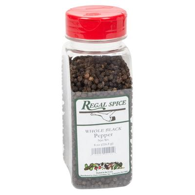 Badia Regal Whole Black Peppercorn - 8 oz.