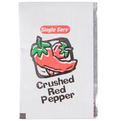Diamond Crystal Crushed Red Pepper 1 Gram Portion Packet ...