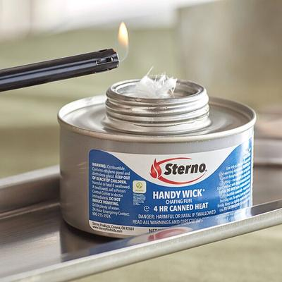 Sterno Products 10106 4 Hour Wick Chafing Dish Fuel Canis...