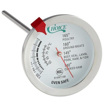 "Update International 5 1/2"" Economy Dial Meat Thermometer"