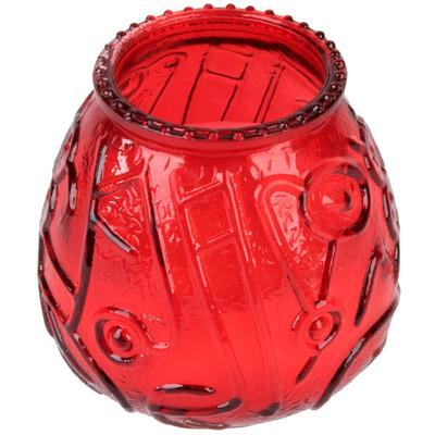 "Sterno Products 40128 4 1/8"" Red Venetian Candle - 12/Pack"