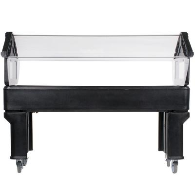 Carlisle 660603 Black 6' Six Star Open Base Portable Food...