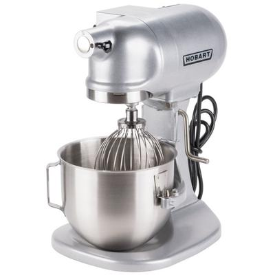 Hobart N50 5 Qt. Commercial Countertop Mixer with Accesso...