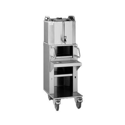 Fetco D020 6 gal LUXUS Thermal Coffee Dispenser w/ Cart, Stainless Steel