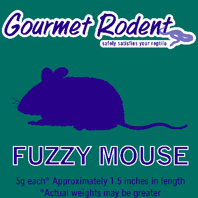 Frozen Fuzzy Mouse - 50 Count, 50 CT