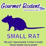 Frozen Small Rat - 10 Count, 10 CT