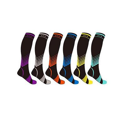 62% PRICE DROP: Sport Compression Knee-High Socks - 6 Pair