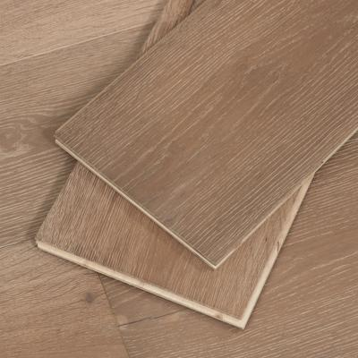 Taupe Engineered Hardwood Floor, 4mm veneer, Sample
