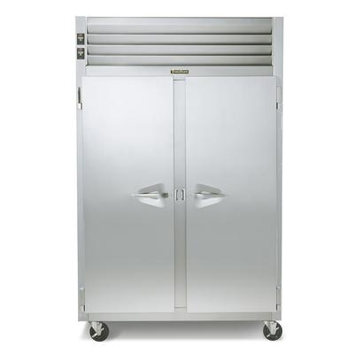 Traulsen RDT232DUT-FHS 48 Two Section Commercial Refrigerator Freezer - Solid Doors, Top Compressor, 115v on Sale