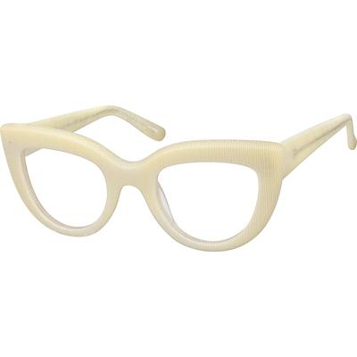 Zenni Women's Retro Cat-Eye Pres...