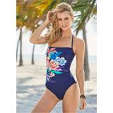 Bandeau One-Piece One-Piece Swimsuits & Monokinis - Multi/Red/Blue/Green/White