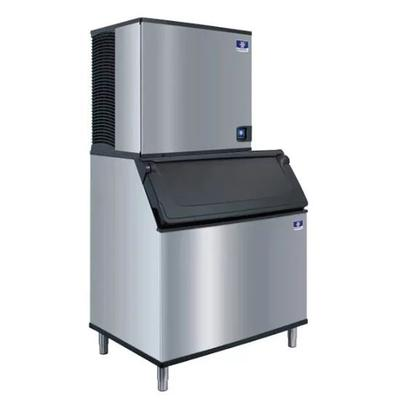 Manitowoc IYT0900A/D970 865 lb Half Cube Ice Maker w/ Bin - 882 lb Storage, Air Cooled, 208v/1ph on Sale
