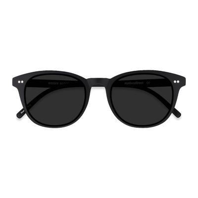 Men's Hidden - Black wayfarer plastic - 20340 Plastic Rx Sunglasses - EyeBuyDirect Prescription Eyeglasses