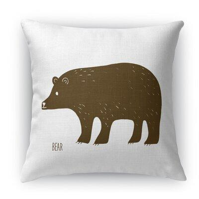 Bear Throw Pillow East Urban Home Size