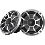 Wet Sounds Recon 5-S 5.25 Marine Speakers w/ Silver XS Grill