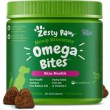 Zesty Paws Omega 3 with Hemp Soft Chews Dog Supplement, 90 count