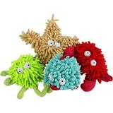 Multipet Sea Shammies Assorted Animals Plush Dog Toy, Character Varies