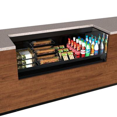 Structural Concepts CO5324R-UC-E3 59.25 Undercounter Open Air Cooler w/ (1) Level, 110v