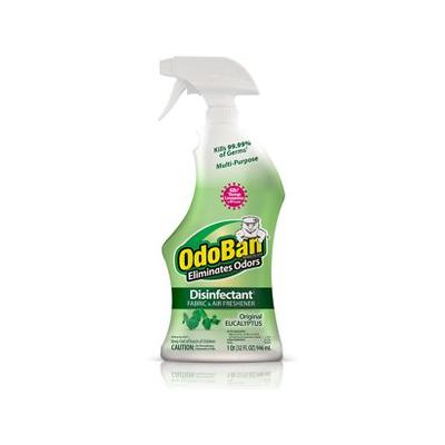 OdoBan Disinfectant Fabric & Air Freshener Spray, Eucalyptus Scent, 32-oz bottle