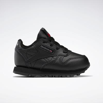 Reebok Unisex Classic Leather Shoes - Toddler in Black Size 2 - Lifestyle Shoes