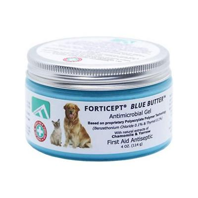 Forticept Blue Butter Pet Wound Filler Antimicrobial Gel, 4-oz