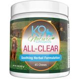 K9 Nature Supplements All-Clear Allergy Treats Bacon & Chicken Flavor Dog Supplement, 45-count