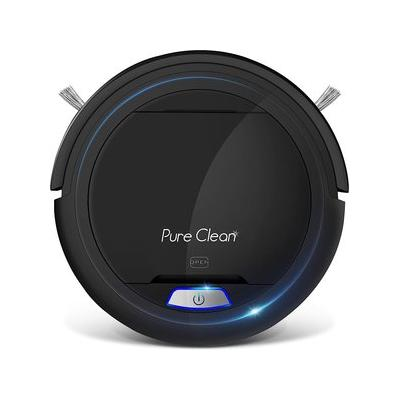 Pure Clean Automatic Robot Vacuum Cleaner, Black