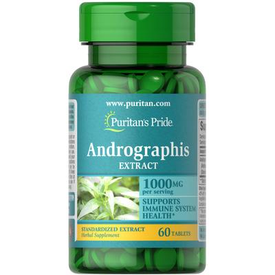 Puritan's Pride Andrographis Extract 500 mg-60 Tablets