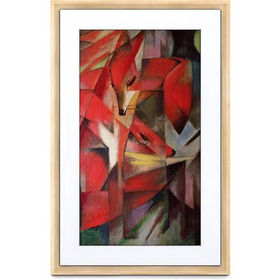 Netgear Meural Canvas II Smart Art Frame- Light Wood 21.5 Diagonal 16x24 Frame