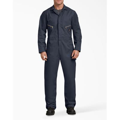 Dickies Men's Deluxe Blended Long Sleeve Coveralls - Dark Navy Size 2Xl 2Xl (48799)