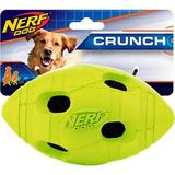 Nerf Dog - Nerf Dog Crunch Bash Football Dog Toy, 5.4-in