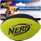 Nerf Dog Squeaker Trackshot Football Dog Toy