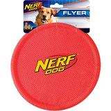 Nerf Dog Flyer Dog Toy, Red, 1 count