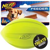 Nerf Dog Feeder Football Dog Toy, 2 count