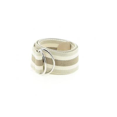 Belt: Tan Stripes Accessories - Size 5