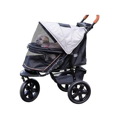 Pet Gear - Pet Gear AT3 No-Zip Pet Stroller, Summit Grey