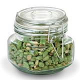 Anchor - Anchor 98590R 17-oz Heremes Canister Jar, Clear