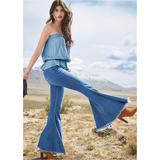 Extreme Flare Jeans Jeans - Blue