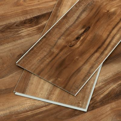 Koa Wood Grain Vinyl Flooring Sample
