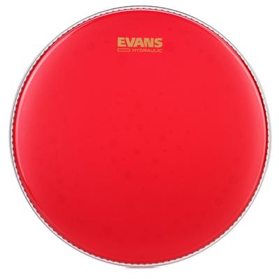"""Evans Hydraulic Red Coated Snare Head - 14"""""""